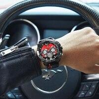 NAVIFORCE мужские часы люксовый бренд милитари, Спортивные кварцевые мужские кожаные водостойкие календари Relogio Masculino