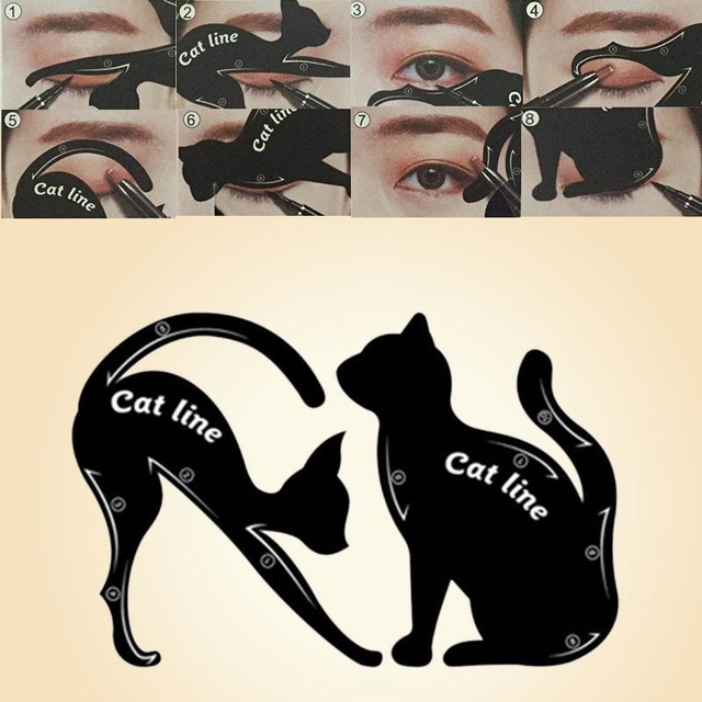 Multifunction Cat Line eyeliner Makeup Tools 1