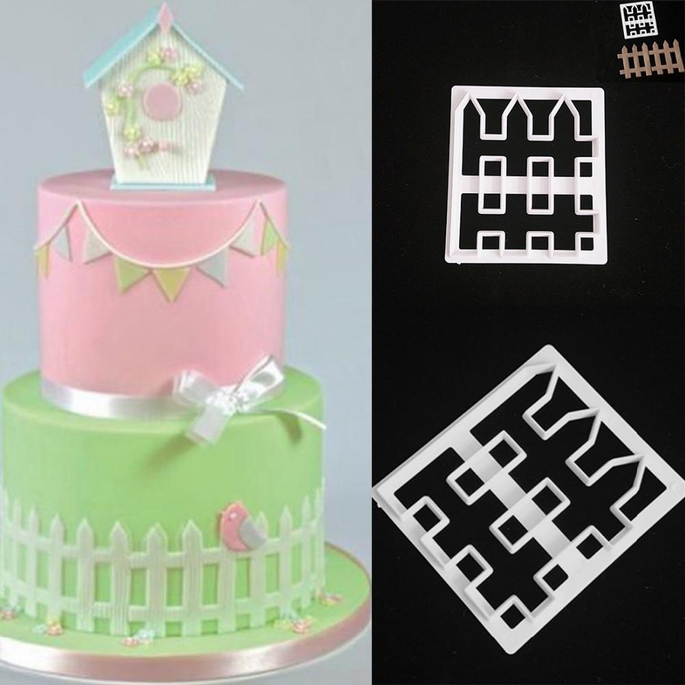Fense plastic Fondant Cutter Cake Mold fondant cutter cake ...