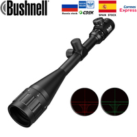 6 24x50 Aoe Riflescope Adjustable Green Red Dot Hunting Light Tactical Scope Reticle Optical Rifle Scope