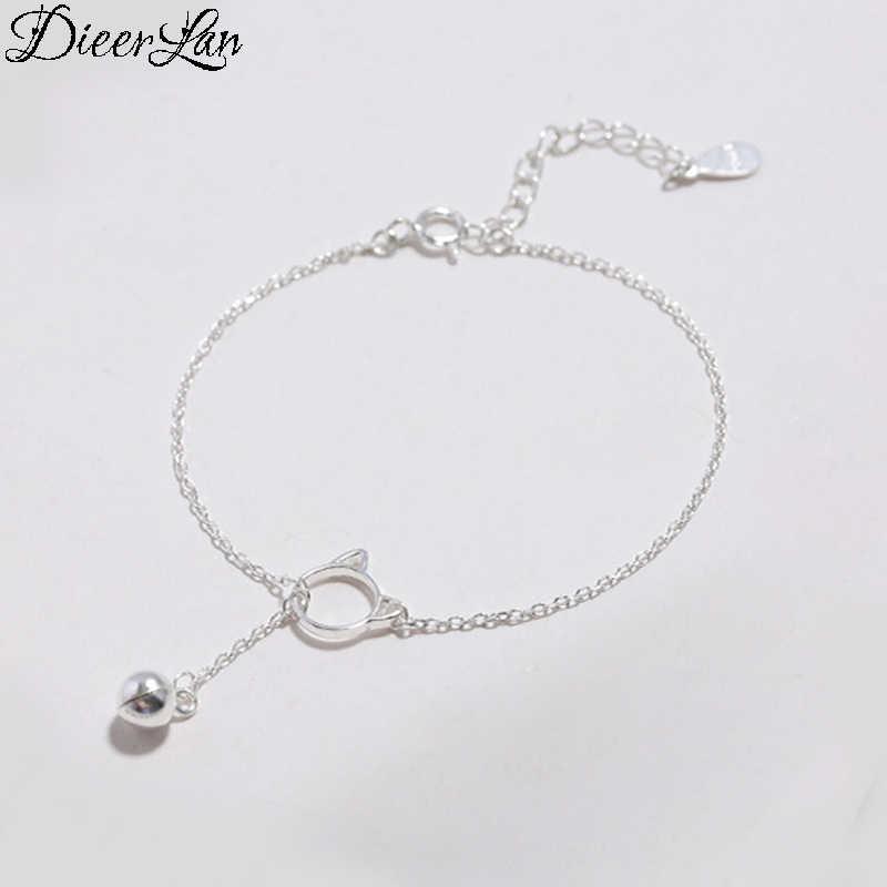 2018 New Arrivals 925 Sterling Silver Tassel Cat Ball Bracelets & Bangles Fashion Bracelet For Women sterling-silver-jewelry