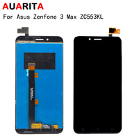 For 5 5 Asus Zenfone 3 Max ZC553KL LCD Display Touch Screen Digitizer Assembly Zenfone3 MAX