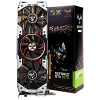 Pre Sale Colorful IGame GTX 1070Ti Vulcan AD Graphics Card 1607 1683MHz 8Gbps GDDR5 256bit PCI