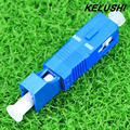 KELUSHI Free Shipping High Quality SC Male to LC Female Fiber Optic Adapter SC-LC Hybrid Optical Adaptor Wholesale Price