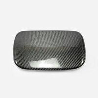 For Impreza 14-18 WRX STI VAB VAF OEM Carbon Fiber MDF Cover RHD Glossy Fibre Interior Dial Dash Mount Trim Car Accessories