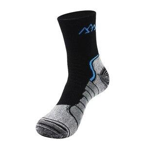 Image 2 - Coolmax calcetines gruesos de secado rápido para hombre, calcetín térmico, transpirable, de retales, 3 par/lote, 2020