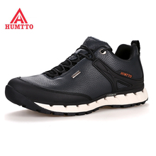 HUMTTO Winter Sneakers Men Trekking Shoes Outdoor Hiking MenS Made Of Genuine Leather Waterproof