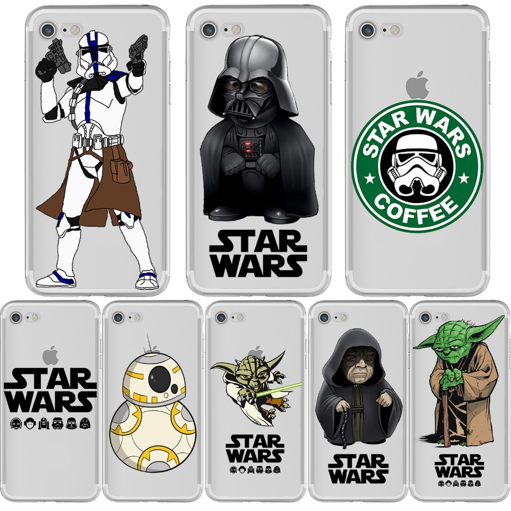 star wars phone cases for iphone 5 5s se 6 6s 6s plus 7 7 plus. Black Bedroom Furniture Sets. Home Design Ideas