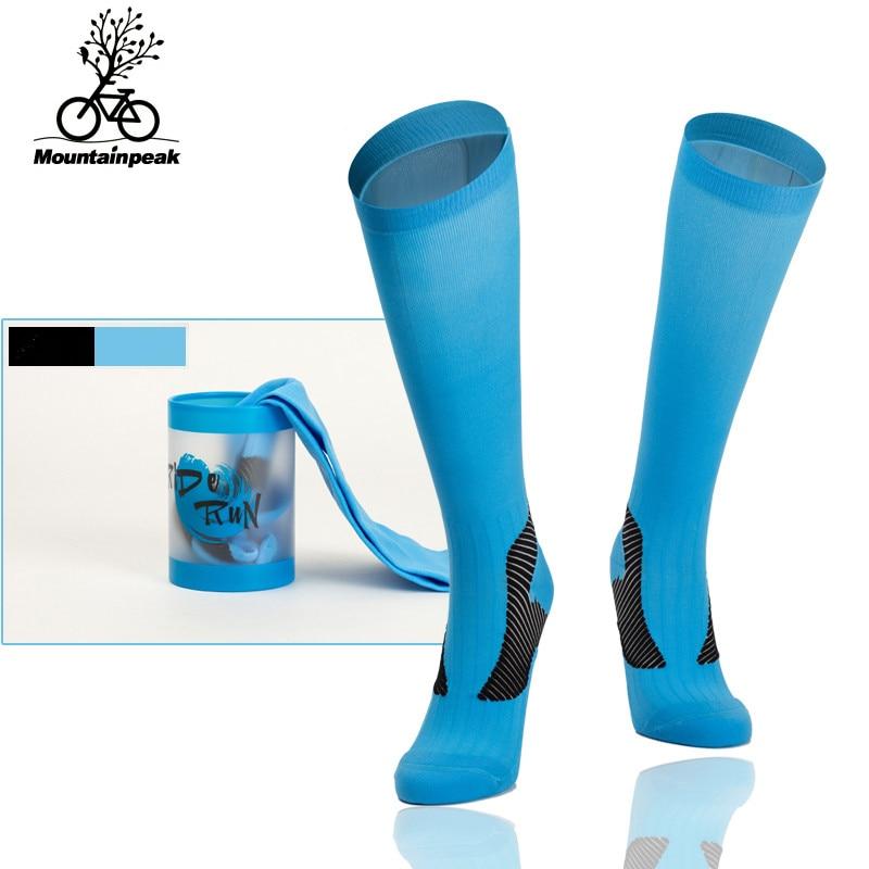 10 Patterns Men Women Sports Socks Ride Compression Socks To Protect The Calf Running Socks Marathon Football Hiking Stockings hockey sock