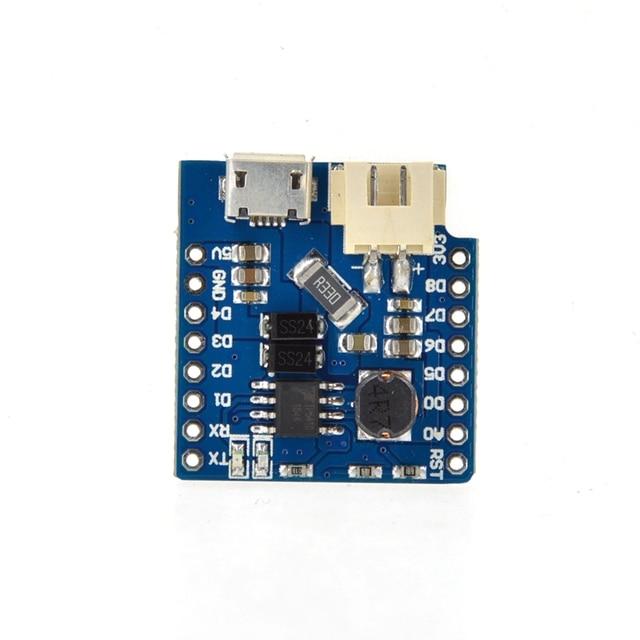MH-ET LIVE Batteria Shield per ESP32 MINI KIT D1 MINI singola batteria al litio di ricarica e boost