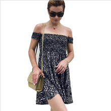 SUOGRY Sexy Party Dresses Bodycon Off Shoulder Dress Bardot Neckline Floral Bodycon Elegant Dress ruffle hem floral bardot dress