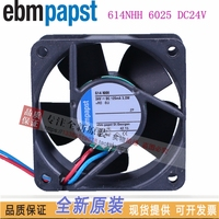 NEW ebmpapst PAPST 614NHH ebm 6025 DC24V 3.0W frequency cooling fan