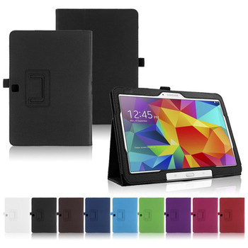 цена на Case for Samsung Galaxy Tab 4 10.1 T530 T531 T535 SM-T530 T533 SM-T531 SM-T535 Tab 4 10 Cover Folio Pu Leather Stand Smart Capa