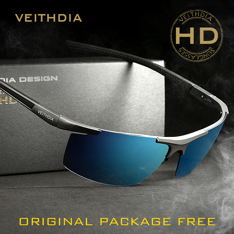 4c33f19a292db ... VEITHDIA Aluminum Magnesium Men s Sunglasses Polarized Coating Mirror Sun  Glasses oculos Male Eyewear Accessories For Men ...
