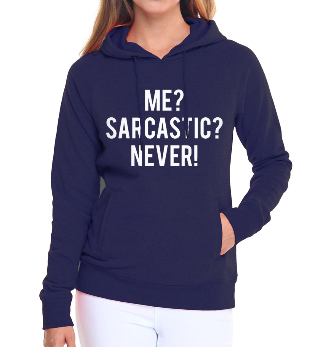 2019 autumn winter fleece hoodies Me Sarcastic Never Sweatshirt Women fashion fitness hoody costumes femme brand pullovers S-XXL