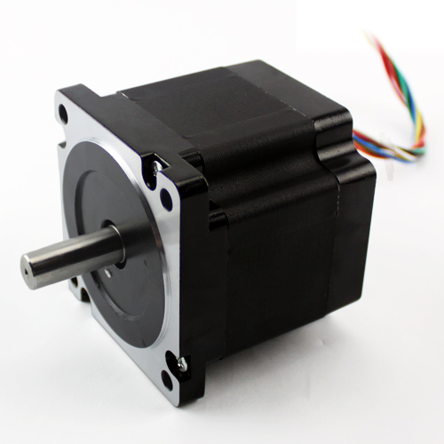 nema 34 stepper motor 2 phase hybrid motor in cnc part 86J1865-828 step motor 0 9 step degree nema14 round stepper motor with 8 8n cm 12oz in length 20mm ce cnc step motor