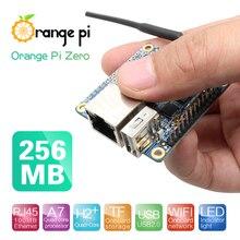 Оранжевый Pi Zero H2+ четырехъядерный процессор с открытым исходным кодом 256 Мб макетная плата за Raspberry Pi