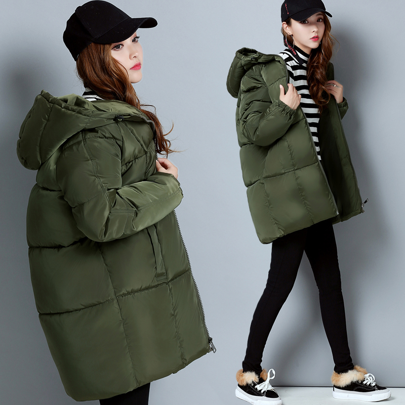 2017 New Winter Jacket Women Casual Coat Womens Clothing Long Cotton Padded Slim Warm Jacket Thicker Coat High Quality 0930-74 海尔新型彩色电视机电路图集