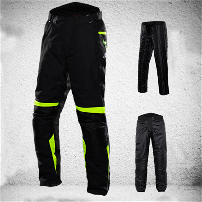 Motocross clothing Sets Oxford trousers Motorcycle jackets Riding pants Windproof warm clothes suit Racing Offroad pants scoyco p017 2 motorcycle pants protective racing trousers sports riding windproof motorbike pantalon moto motocross motocicleta