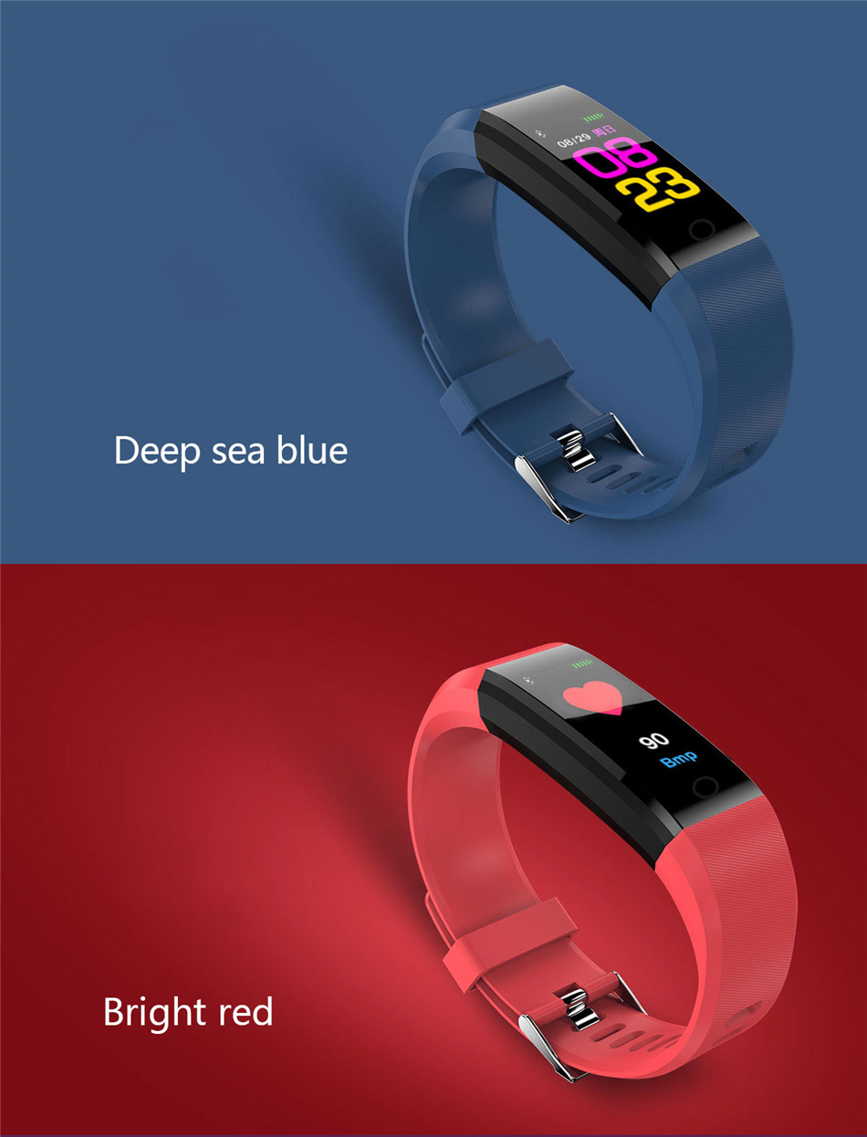 Fitness Tracker bracelet pressure measurement pedometer Smart band Heart rate monitor IP68 Waterproof smartwatch For Android ios xiaomi band 14