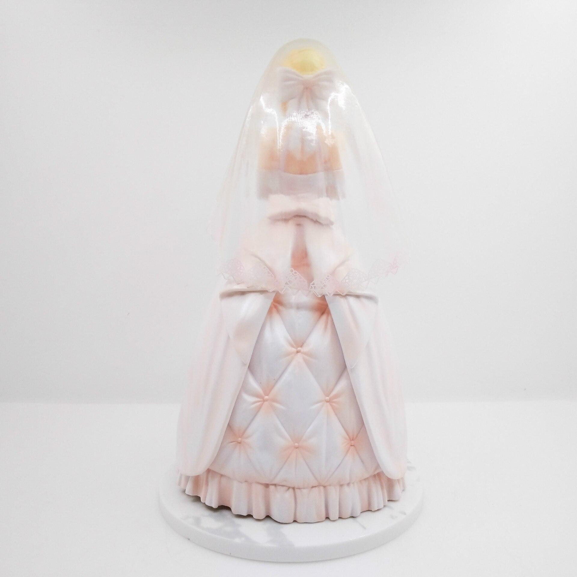 Destin/séjour sabre de nuit lily robe royale robe de mariée blanche 10th anniversaire figurine d'action PVC 25 cm collection sabre poupée de mariage - 4