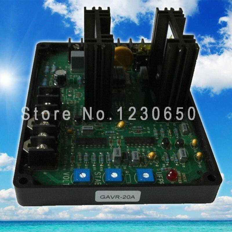 цена на Universal brushless generator spare part Automatic Voltage Regulator AVR GAVR 20A
