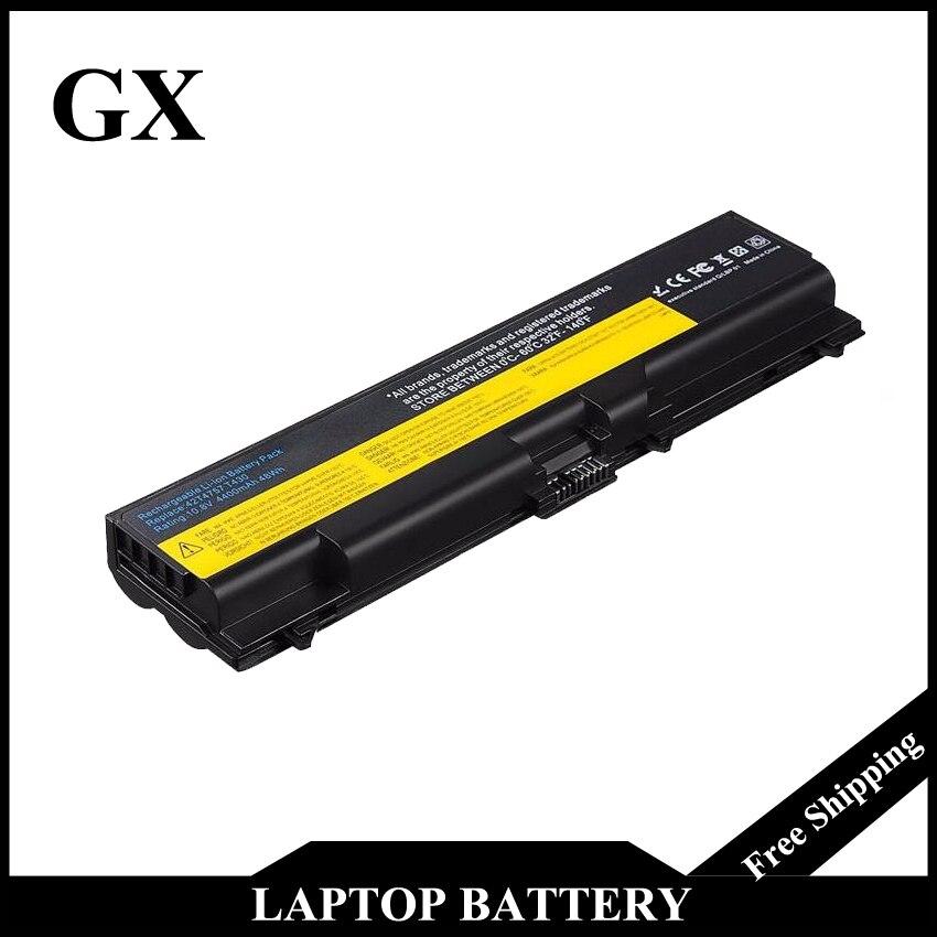 Laptop Battery for Lenovo ThinkPad T410 L410 L420 L510 L520 L412 SL410 SL510 T520 W520 For ThinkPad Edge14 E420 E520 E525 new original for lenovo thinkpad w520 t520 t520i l520 15 6 hd ag led dispaly laptop lcd panel screen 93p5681 93p5680 ltn156kt02
