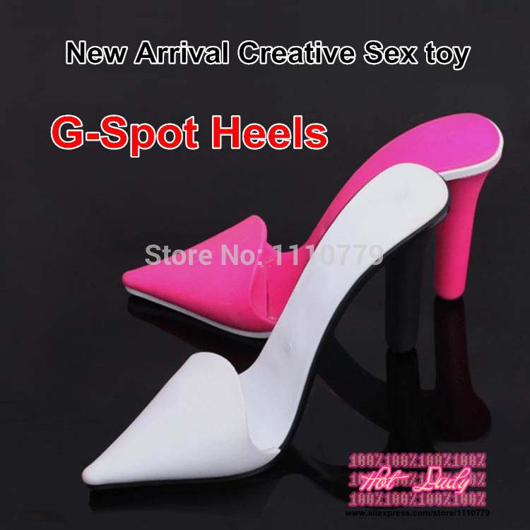 2015 New Arrival High quality creative heel style flirting G-spot 2 vibrator sex toy,sex machine for women,couples gift,2 colors