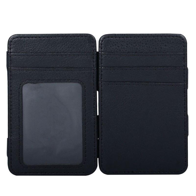 New Style Money Clip Magic Wallet Card Holder Kreditkortskal med - Plånböcker - Foto 5