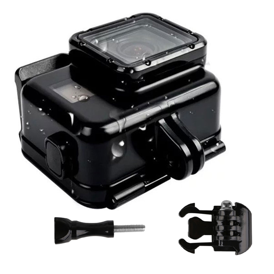 130 Feet Waterproof Housing Case for Gopro Hero 5 + Touch Screen Backdoor Cover For Go pro Hero 5 Black Action Camera gopro bacpac backdoor kit for standart housing