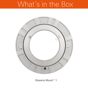Image 2 - Godox Bowens monture Softbox adaptateur bague de vitesse montage de vitesse 99mm pour Studio Flash photographie éclairage Srobe boîte souple