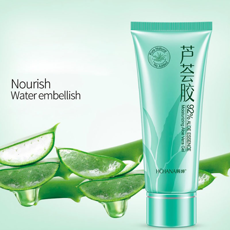 New Aloe Vera Gel Skin Care Face Cream Hyaluronic Acid Anti Winkle Whitening Moisturizing Acne Treatment Cream