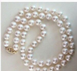 Ожерелье из белого жемчуга, 18 дюймов, Круглый, в Южно-морском стиле