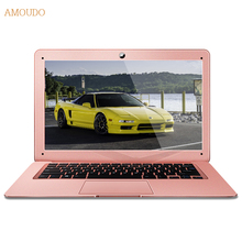 Amoudo 14inch Intel Core i5 CPU 4GB RAM+120GB SSD+500GB HDD Dual Disks Windows 7/10 System Ultrathin Laptop Notebook Computer