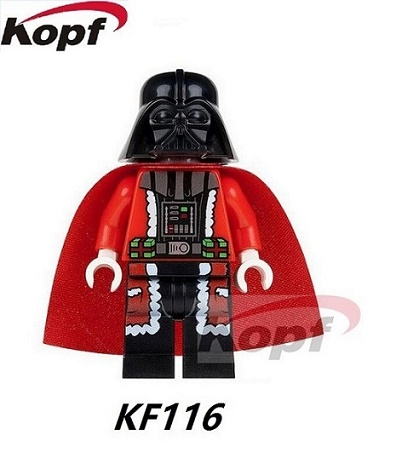 KF116 20Pcs Super Heroes Darth Vader Figures Star Wars Bricks Building Blocks Collection Toys Christmas Gift For Children