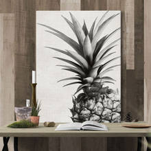 Fashionable Pineapple Tropical Plant Hand-painted Modern Art Oil Painting Abstract Wall Decor Canvas Painting Wall Art Picture(China)