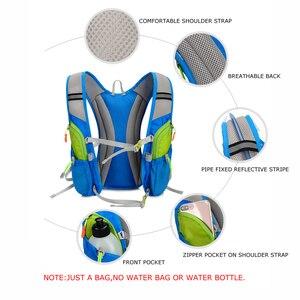 Image 5 - Сверхлегкий рюкзак TANLUHU для занятий на открытом воздухе, для марафона, бега, велоспорта, походов, гидратации, сумка для жилета, сумка для воды 2 л, бутылка пузыря, 675