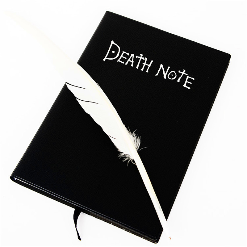Death note book cute fashion animation theme death note Cosplay notebook new school office supplies 20.5cm*14.5cm. диванная подушка death note raito l 35x45cm r125