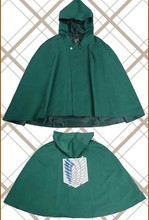 Attack on Titan Cloak Shingeki no Kyojin Scouting Legion Cosplay Costume