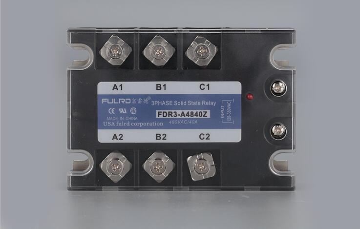 цена на Three-phase solid state relay AC-AC AC125-380V Control AC24-480V 10A 40A JGX-3