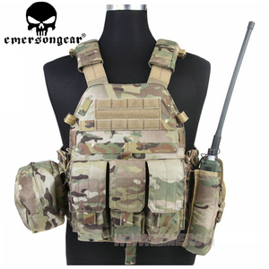 Image 1 - Emersongear LBT 6094 Tactical Vest Body Armor With 3 Pouches Hunting Airsoft Military Combat Gear EM7440 AOR Khaki Mandrake