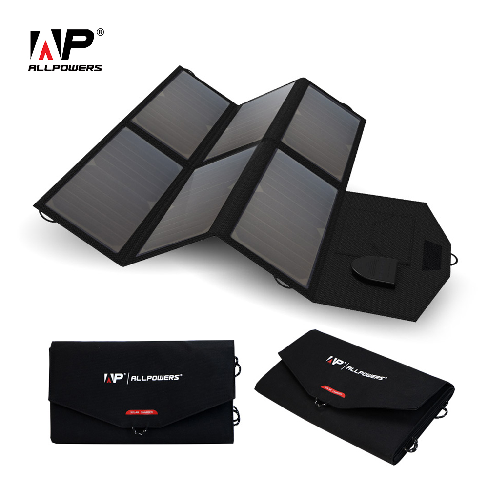 ALLPOWERS High Efficiency Solar Charger System 5V 12V 19V Charging for Mobile Phones/Tablets/Laptops/12V Car Battery/Speaker etc new 10 1 inch case for asus memo pad me103 k010 me103c touch screen digitizer glass panel sensor mcf 101 1521 v1 0 free shipping