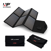 ALLPOWERS High Efficiency Solar Charger System 5V 12V 19V Charging for Mobile Phones/Tablets/Laptops/12V Car Battery/Speaker etc