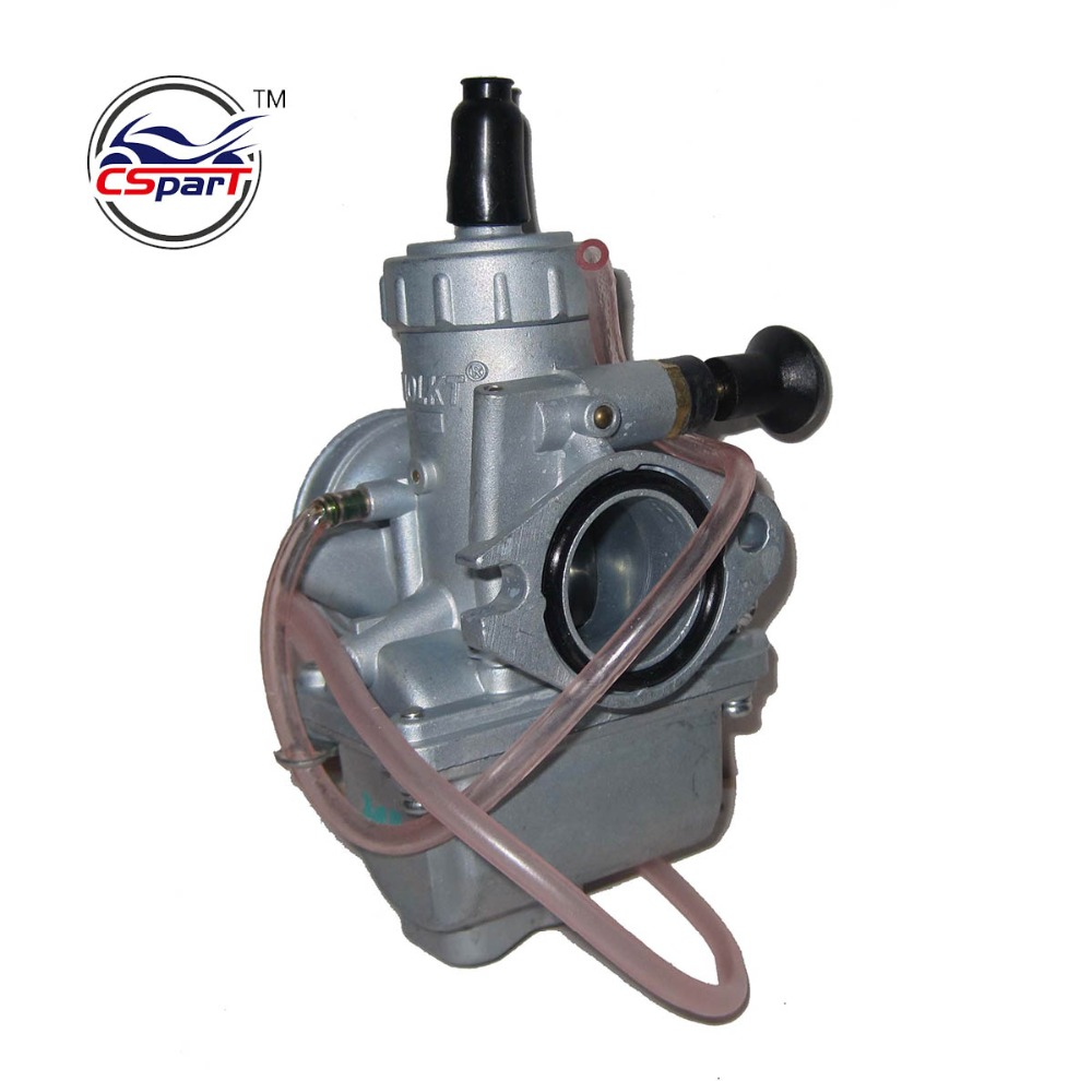 цена MOLKT 26 26mm Carb Carburetor PZ26 Fit 110cc 125cc dirt pit bike chinese ATV Quad Buggy with 4 stroke engine