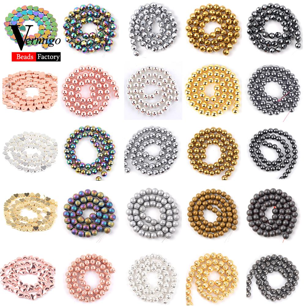 "HEM59 16/"" String Hematite Cushioned Oblong Beads 12mm x 8mm"