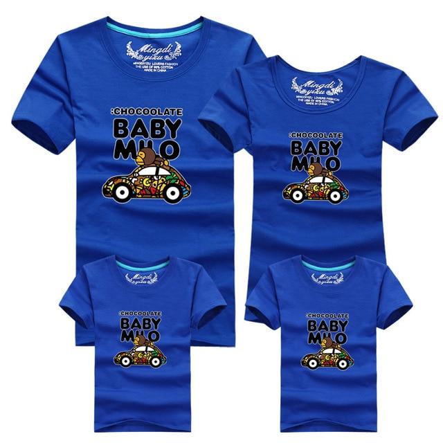 Shirt Auto Fumetto Del T Colore Di Uomo Donna 11 Scimmia Bambini Wqa1RHUnw