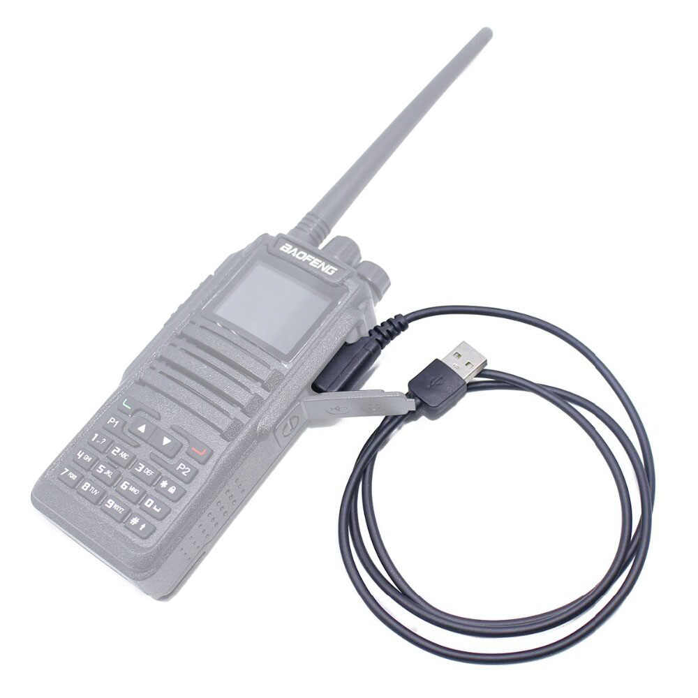 2020 Baofeng DM-860 Digitale Walkie Talkie USB Programmierung Kabel Für DM-1701 DM-1801 DM-X DMR Tier1 Tier2 Tier II Dual zeit radio