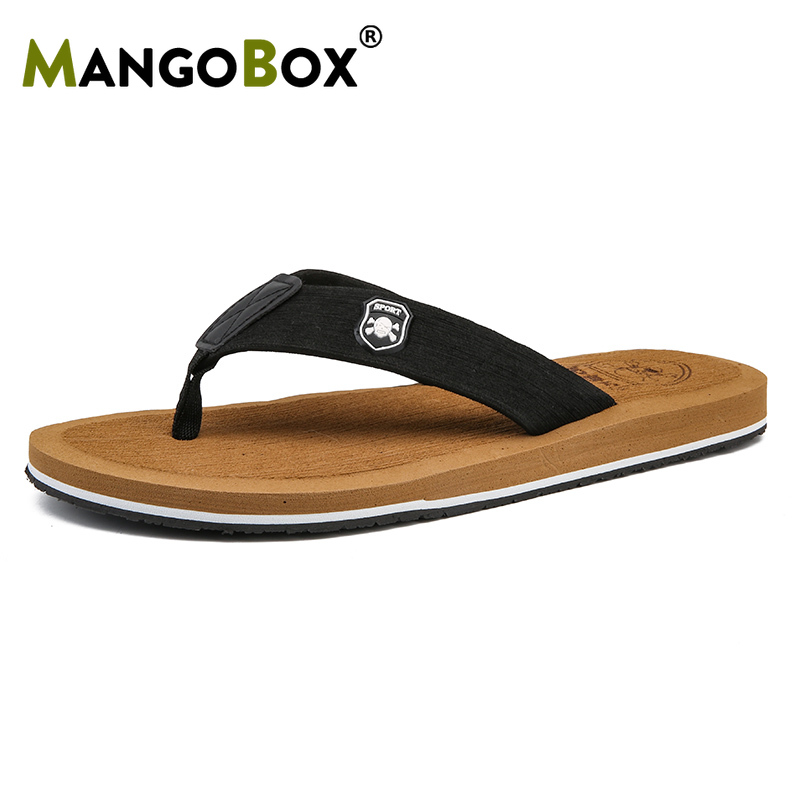 Summer Fashion Slippers Outdoor Comfortable Breathable Flip Flops Men Massage Men Casual Sandals Leisure Fashion Mens Slides(China)