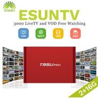 1 Year IPTV included T95U PRO Android IPTV Box 6.0 Smart TV Box Spain UK Germany Italy Netherland Sweden Portugal EX YU xxx US