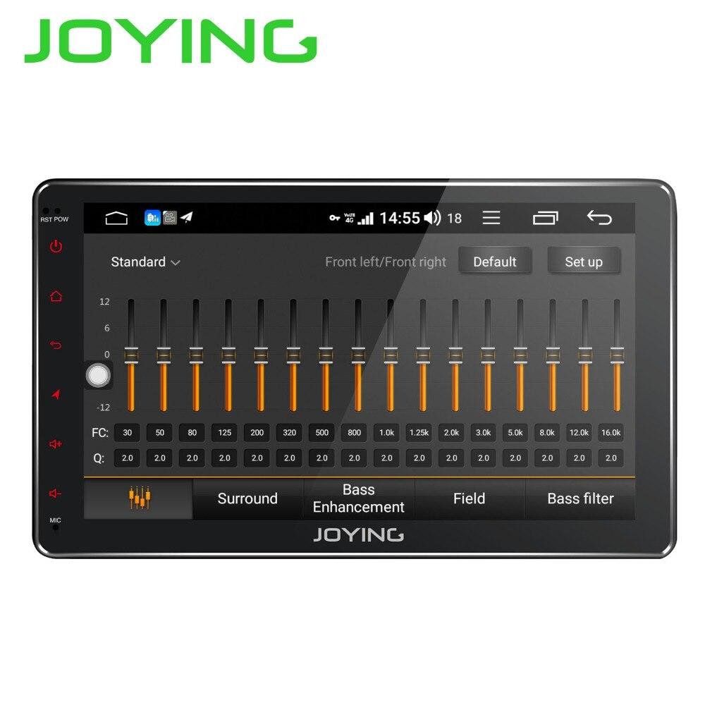 JOYING Android 8.1 2 din Autoradio Stereo Multimedia Player Radio GPS 10.1 ''IPS HD Dello Schermo Unità di Testa con DSP octa Core 4 GB di RAM